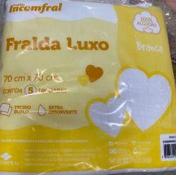 fralda inconfral luxo s/barra